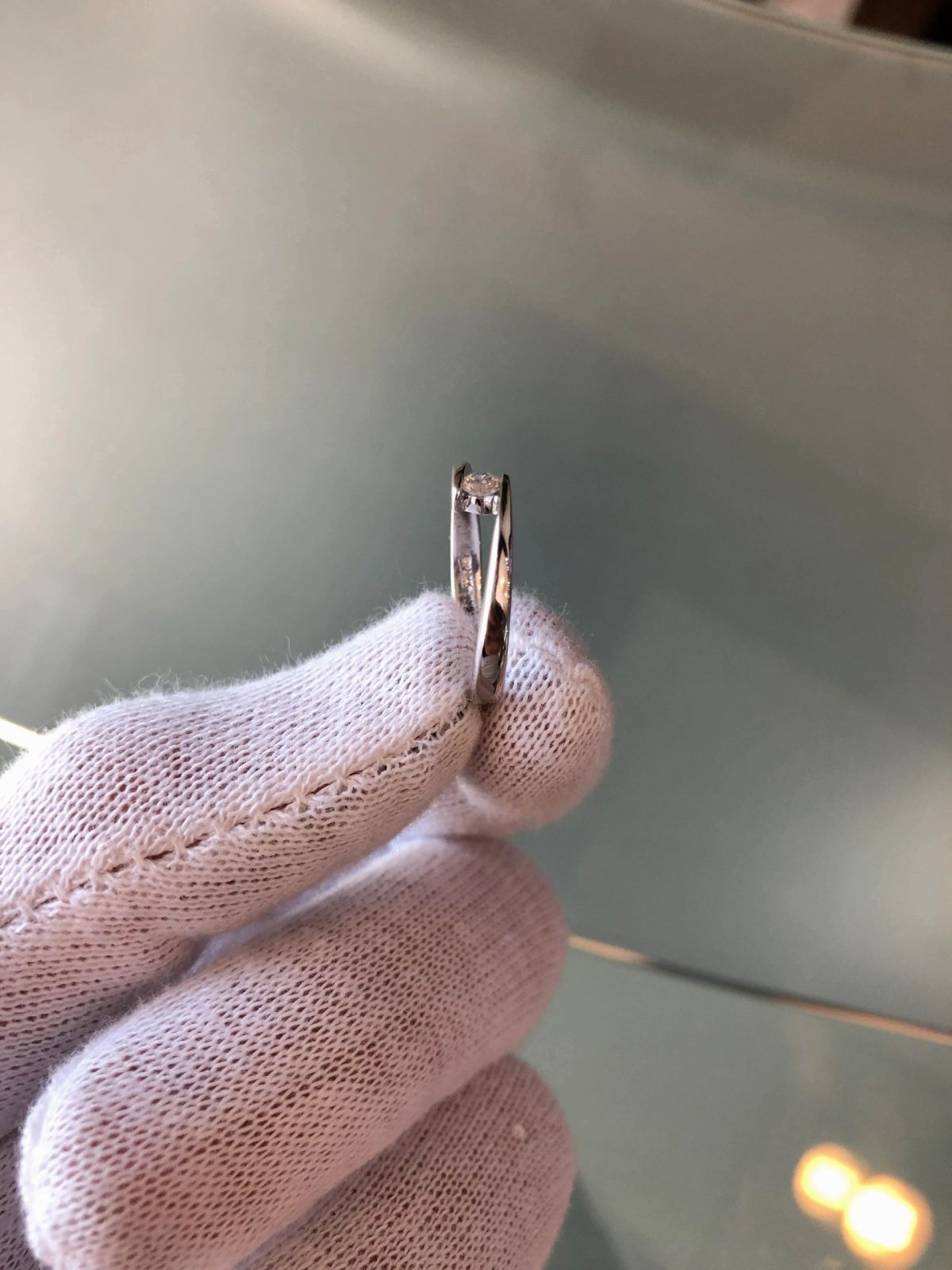 Ladies Fashion Diamond Ring 0.10CTW 14KWG