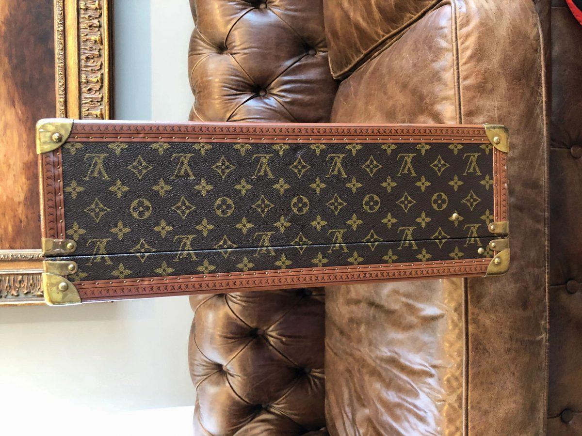 Louis Vuitton Suitcase Trunk Case Travel Bag Monogram